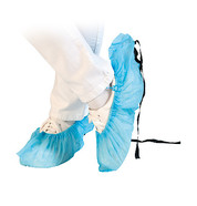 Overshoes for Hygomat dispensers Non-woven PP with antistatic strap