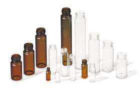 Sample vials ROTILABO<sup>&reg;</sup>, clear glass, 10 ml