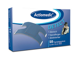 Refill pack Actiomedic<sup>&reg;</sup> Detectable plasters, Plaster strips, 72 x 19 mm