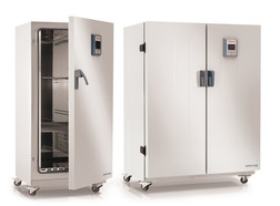 High-capacity drying cabinet Heratherm<sup>&reg;</sup> Advanced Protocol with ventilator, 396 l, OMH400