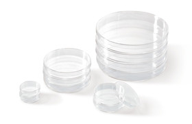 Petri dishes Heavy duty version without vents, <b>Sterile</b>
