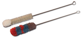Cleaning brush ROTILABO<sup>&reg;</sup> Brush made with natural fibres with wool head, 30 mm, 115 mm, 270 mm