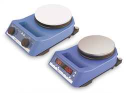 Heater and magnetic stirrer RH series RH digital models , Stainless steel, With stainless steel hot plate