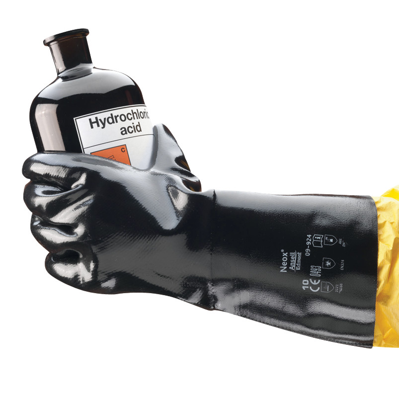 Chemical protection gloves AlphaTec<sup>&reg;</sup> 09-924 (formerly Scorpio<sup>&reg;</sup>)