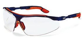 Safety spectacles i-vo, Colourless, Blue, Orange
