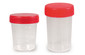 Sample beakers with screw closure with graduation and labelling area, 120 ml, Non-sterile, 500 unit(s)