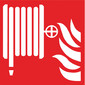 Fire safety symbol Acc. to ISO 7010 Adhesive film, long-lasting luminescence, Fire alarm